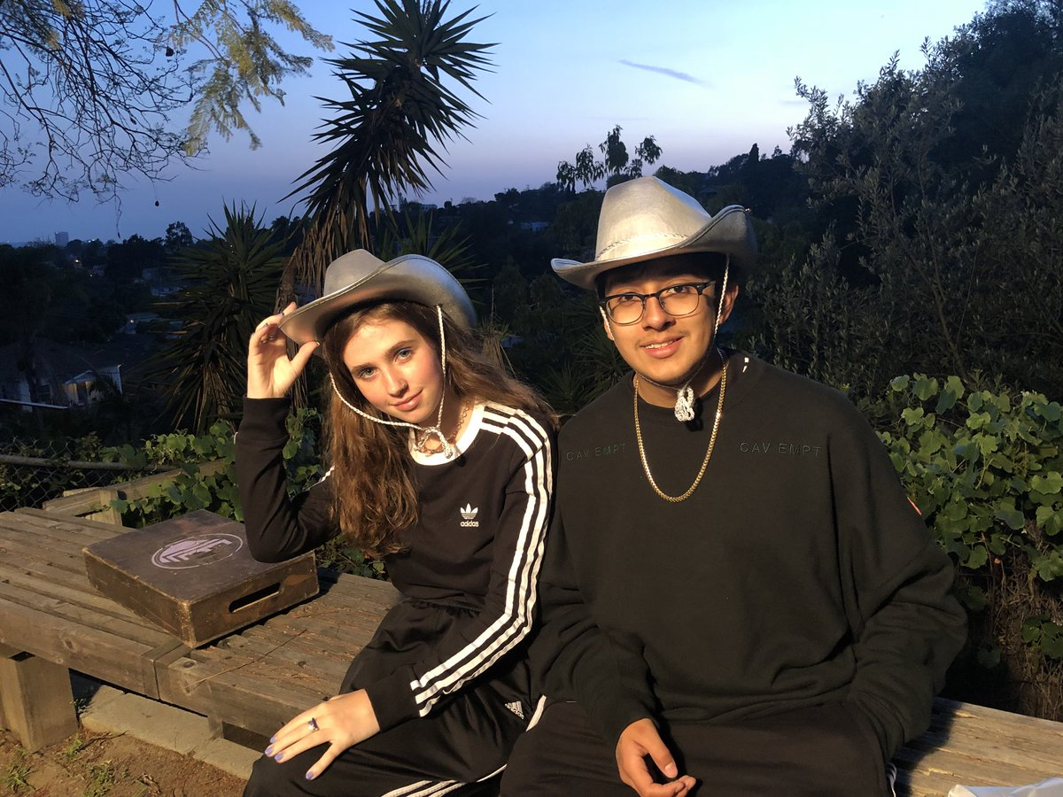 Elysian Park has never looked this Good, @clairo @Icryduringsex.