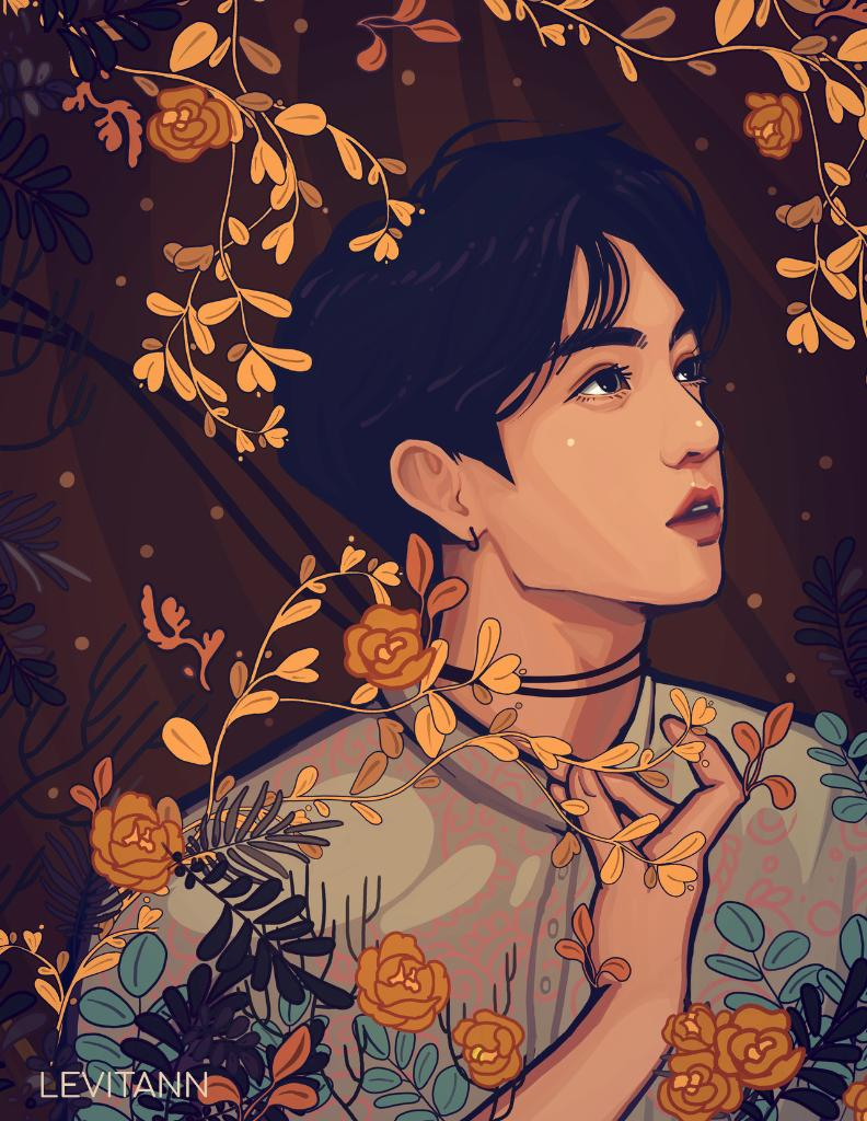 Fake love 🌻 https://t.co/FbsKCbCL3A (by @levitann_) #BTS #LoveYourselfTear