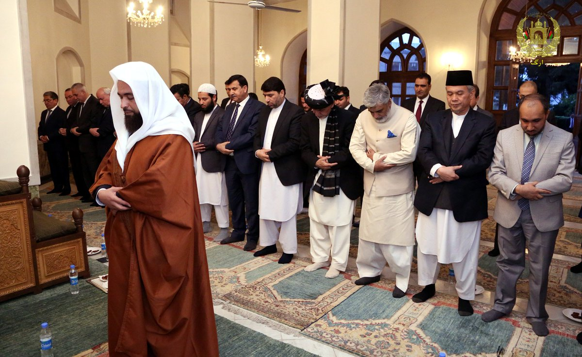 Pres.@ashrafghani at Iftar hosted for Islamic countrys ambassadors & diplomats in Kabul: We need unity & solidarity among the Muslim countries via enhanced state to state cooperation. Islam as a civilization and culture has to be explained to younger generations of Muslims.
