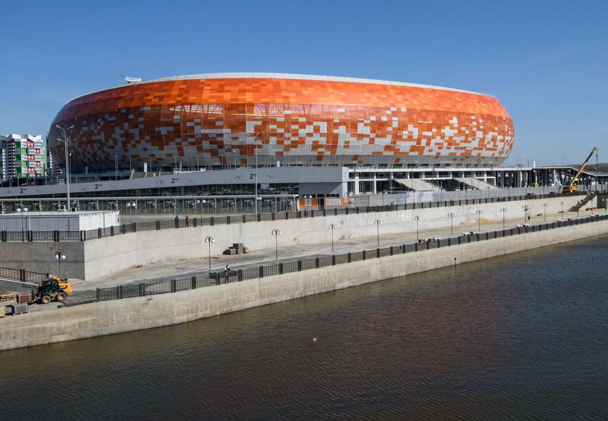 Ddkvcl9U8AIrX7y - FIFA World Cup Venue Tour: The Mordovia Arena, Saransk