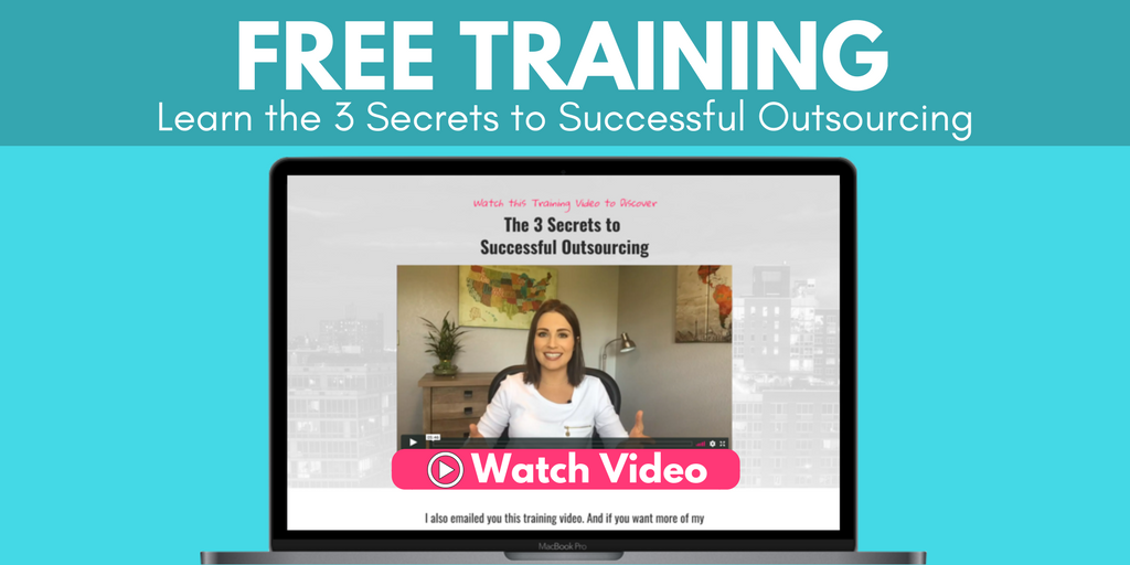 The truth about #outsourcing? @MandyModGirl shares her secrets in this free video training for #entrepreneurs: https://t.co/D8C6M9zT61