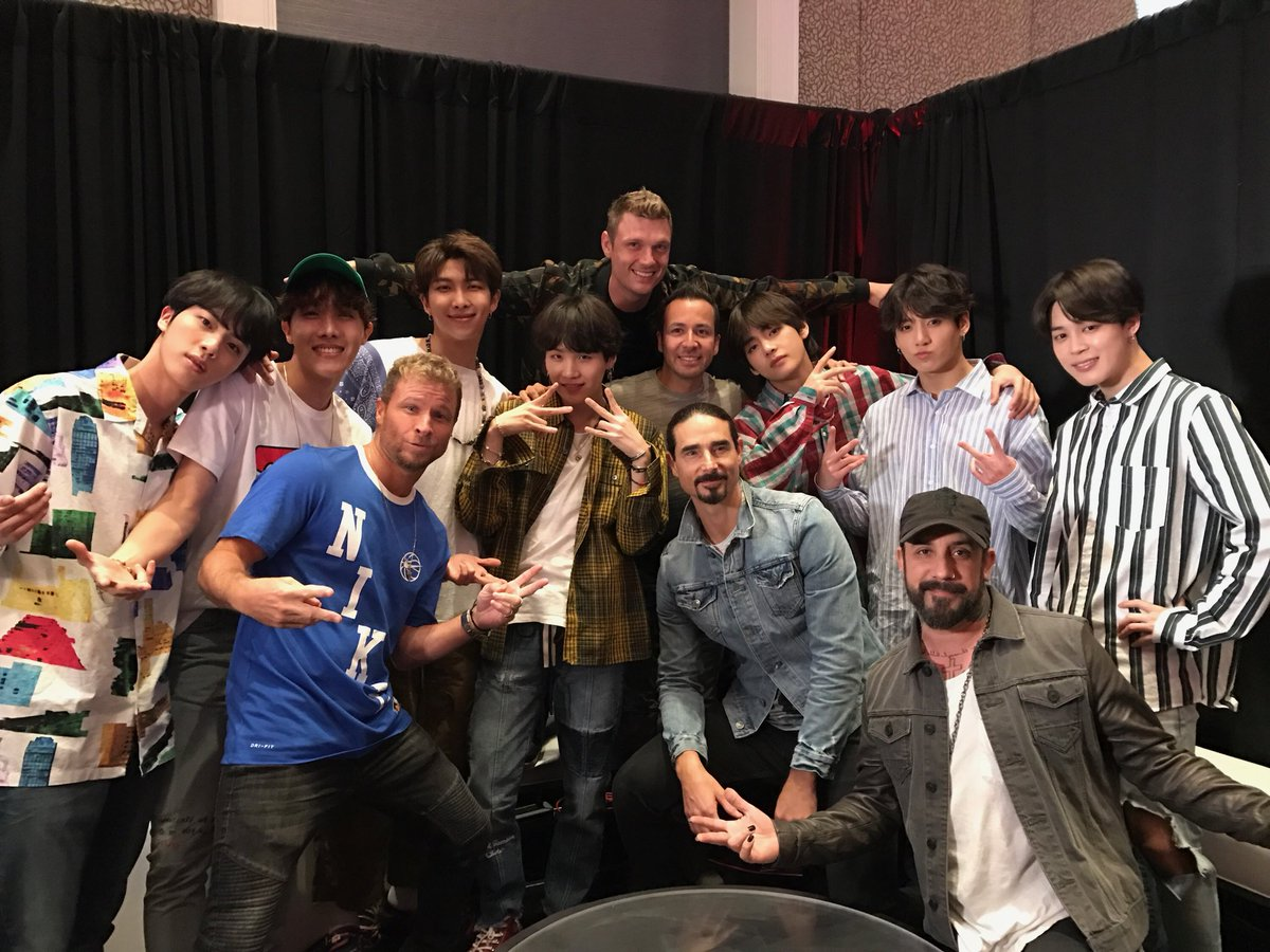 We are such huge fans of @BTS_twt! #BTSB #DontGoBreakingMyHeart #FakeLove