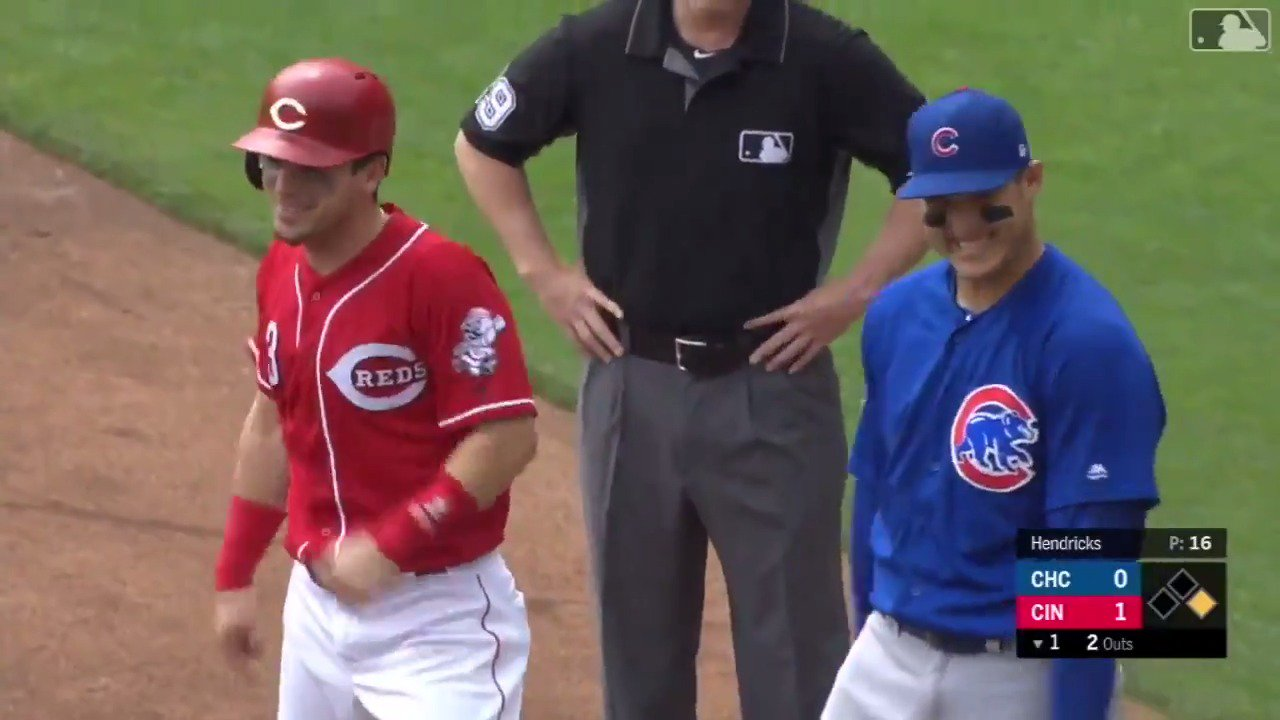 .@Sgennett2 isn't falling for your shenanigans, @ARizzo44. �� https://t.co/FyO1ONNwci