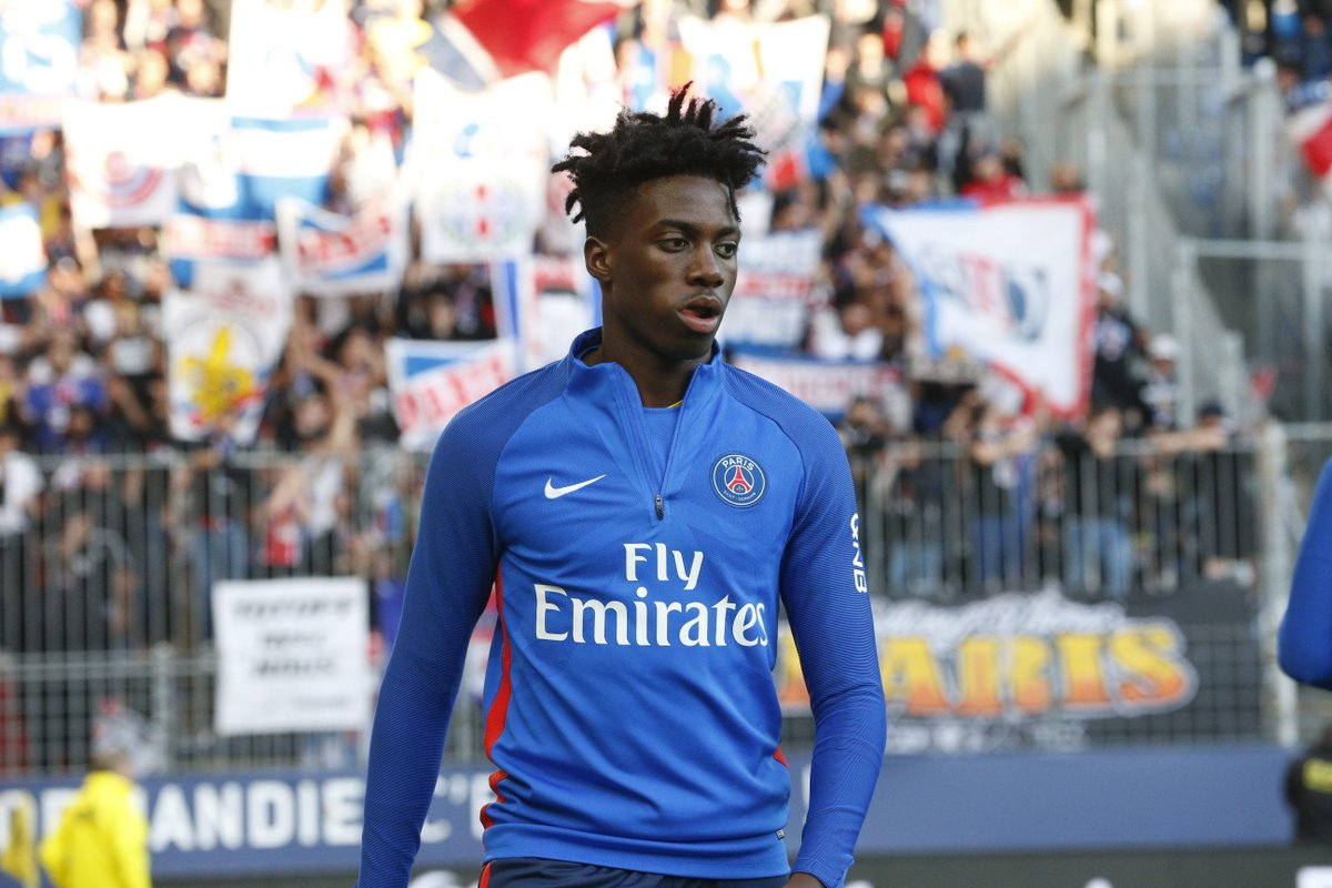 ⚽ #SMCPSG  Timothy Weah to make his first start for @PSG_English tonight ! ✊   🔴🔵 #AllezParis