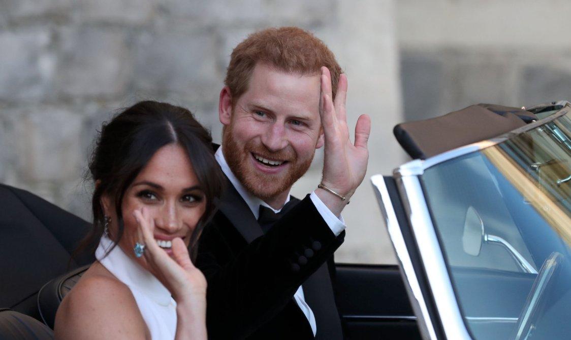 Meghan Markle Borrowed Something Blue from Princess Diana
