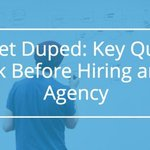 Don't Get Duped: Questions You Must Ask Before Hiring an #SEO Company https://t.co/FGc0MoxBLe via @justincherring