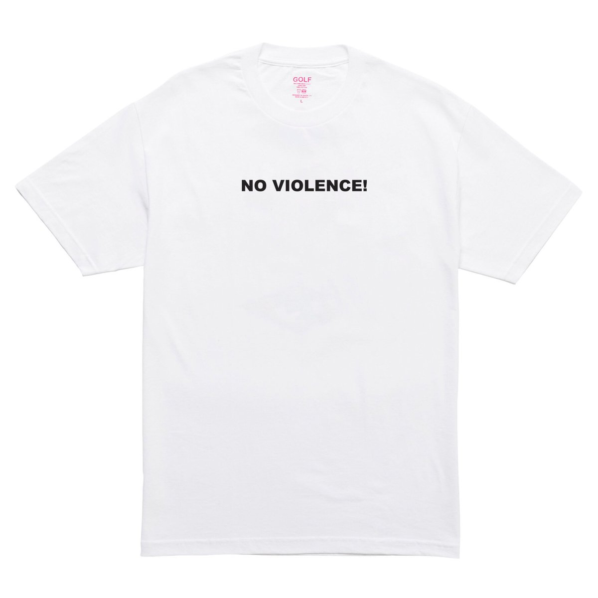 NO VIOLENCE: a line from OKRA - available now: golfwang.com