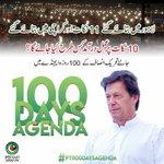 #PTI100DaysAgenda