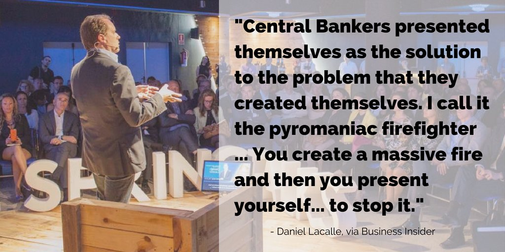 If you still haven&#39;t read my latest interview on @BusinessInsider, it&#39;s a highly recommended read. Read it now via  http:// uk.businessinsider.com/daniel-lacalle -central-bankers-pyromaniac-firefighters-2018-5 &nbsp; …   #banking #trade #economics #currency #finance #growth<br>http://pic.twitter.com/dfRSDJPxWR