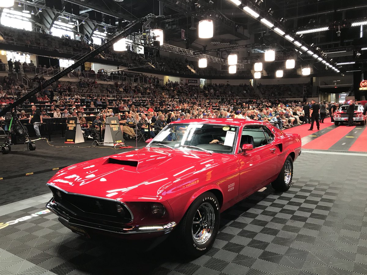 Mecum Auctions On Twitter The Boss Brings Big Bucks A Hammer 1969 Ford Mustang 429 Fastback Check Out All Cars Specs Right Here Https Mecumcom Lots Sc0518 327323