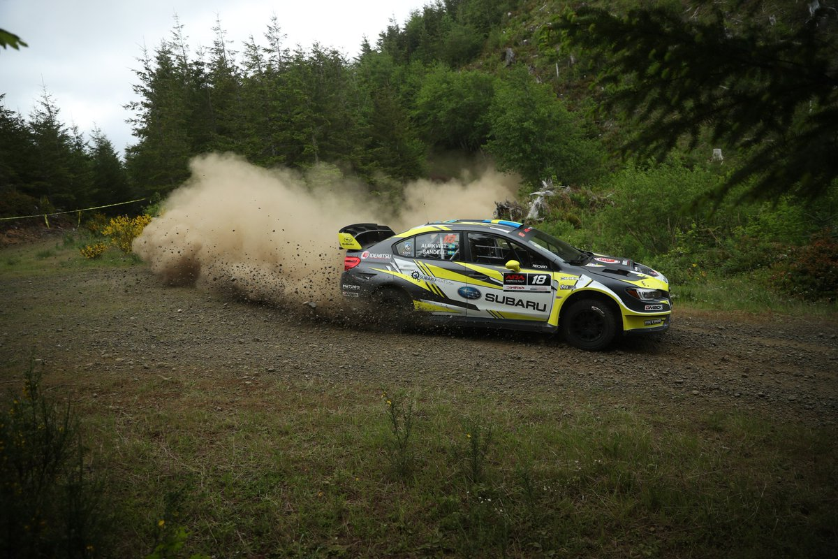 Subaru Rally Team Usa On Twitter Service A Patriksandell The