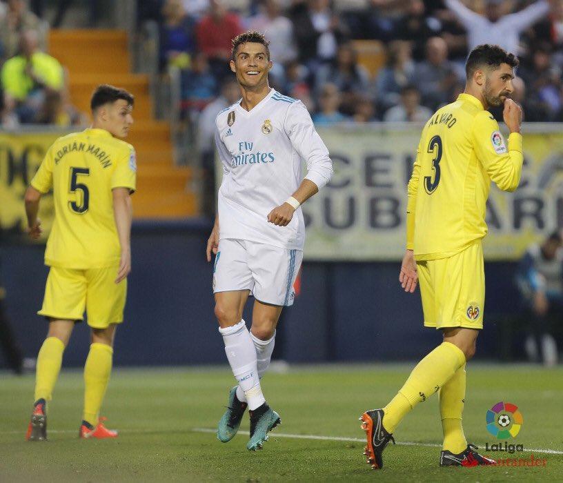 هدف ريال مدريد الثاني في مرمى فياريال