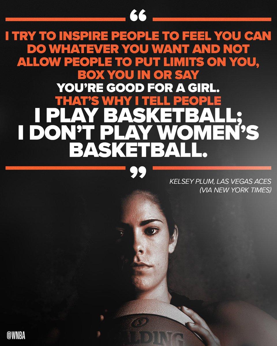 👊 @KelseyPlum10 is a HOOPER. #WNBATakesAStand   ♥️♠️ @LVAces ♦️♣️