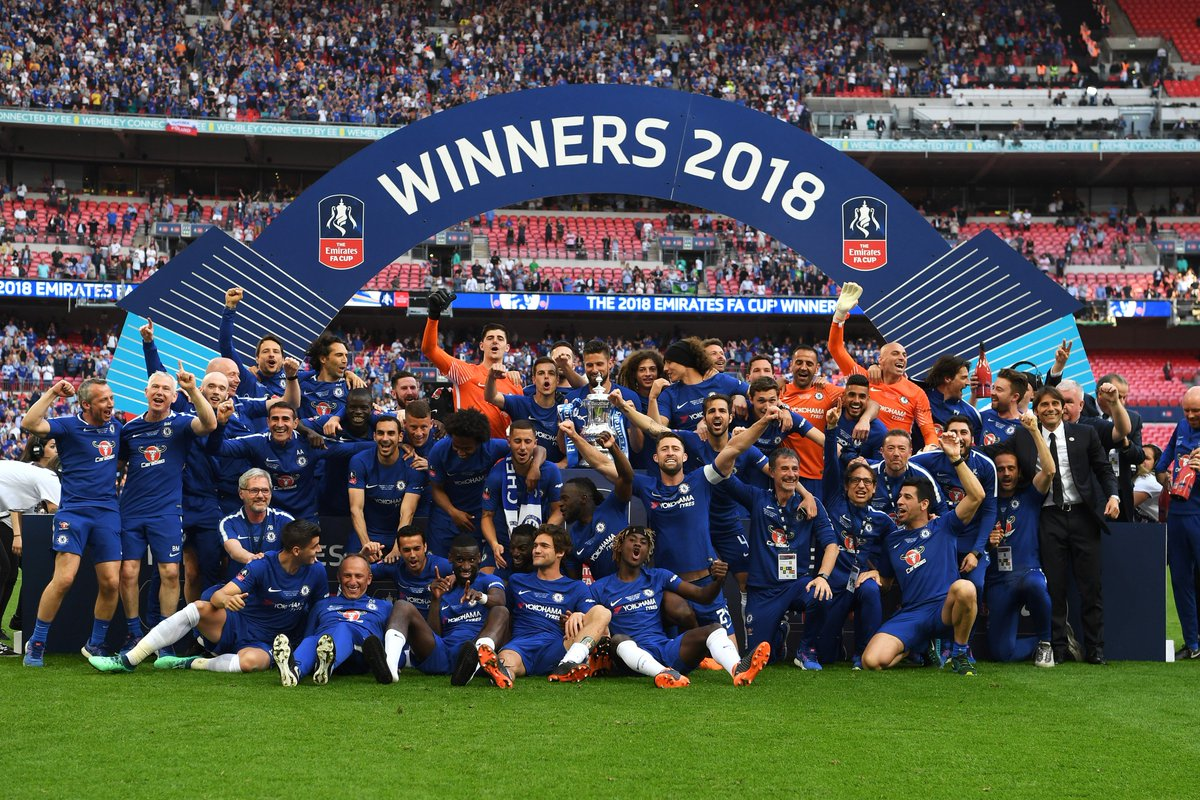 That was for you, Ray. 💙  #FACupFinal