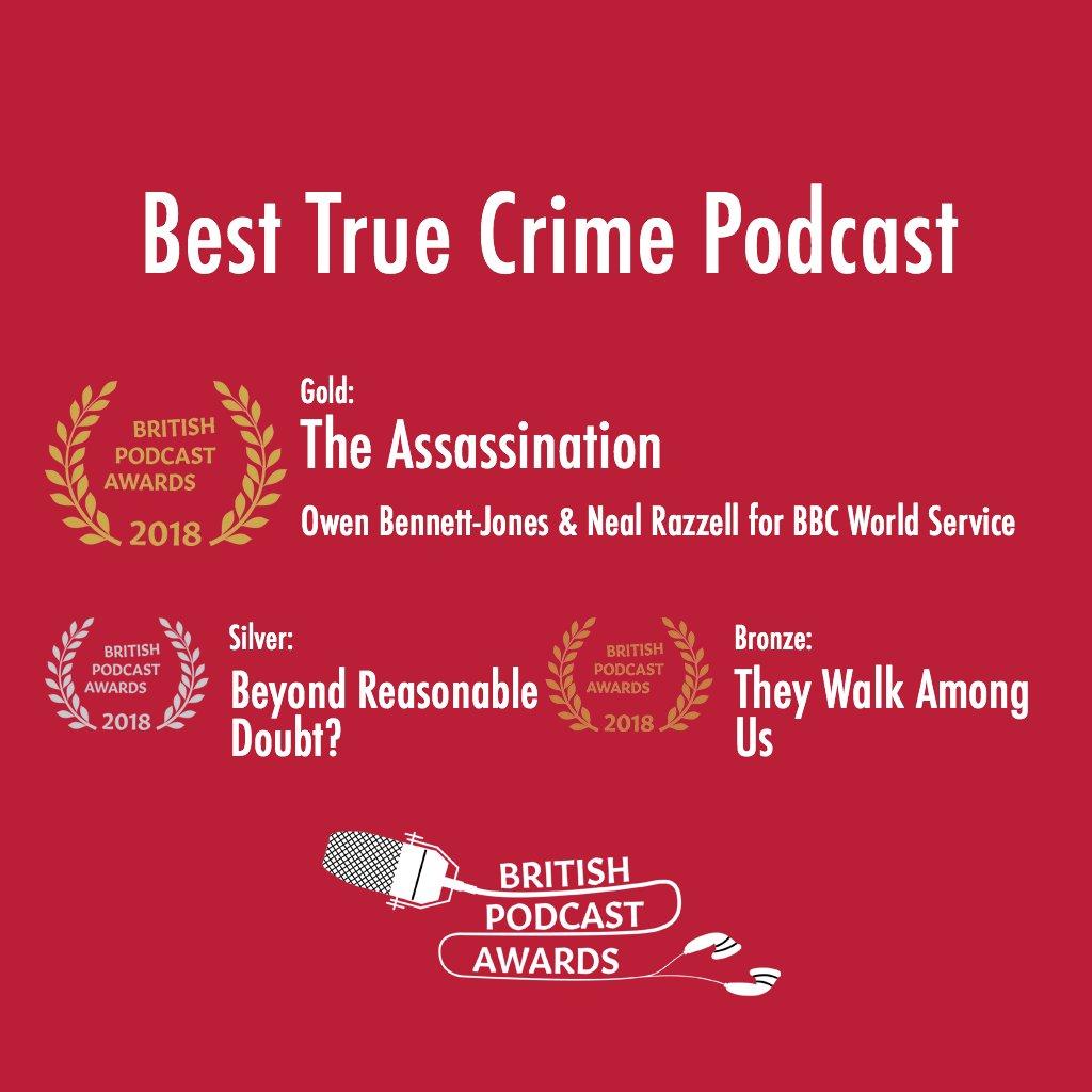 British Podcast Awards on Twitter:
