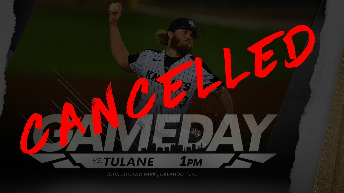 This might not come as much of a surprise, but todays game has been cancelled. Well open the @American_BSB Tournament on Tuesday ⚔️