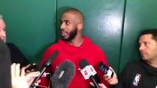 This is what we do, we hoop. - @CP3  Interviews from practice ➡️ bit.ly/PracticeInterv…