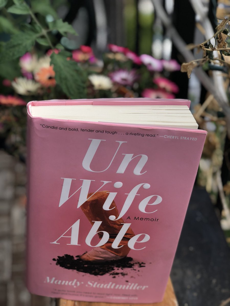But Mandy's brave honesty is inspiring and empowering. #Unwifeable is  unforgettable! pic.twitter.com/7YGnJg8Oka