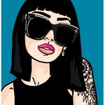 Check out this drawing from @kd_popart! Created on @frenchgirlsapp #frenchgirlsapp