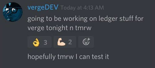 NEWS #Verge  #vergecurrency #XVG #NextBitcoin #privacy #VergeFam #VergeArmy #Bitcoin #btc #cryptocurrency<br>http://pic.twitter.com/xUQ6Fmw198