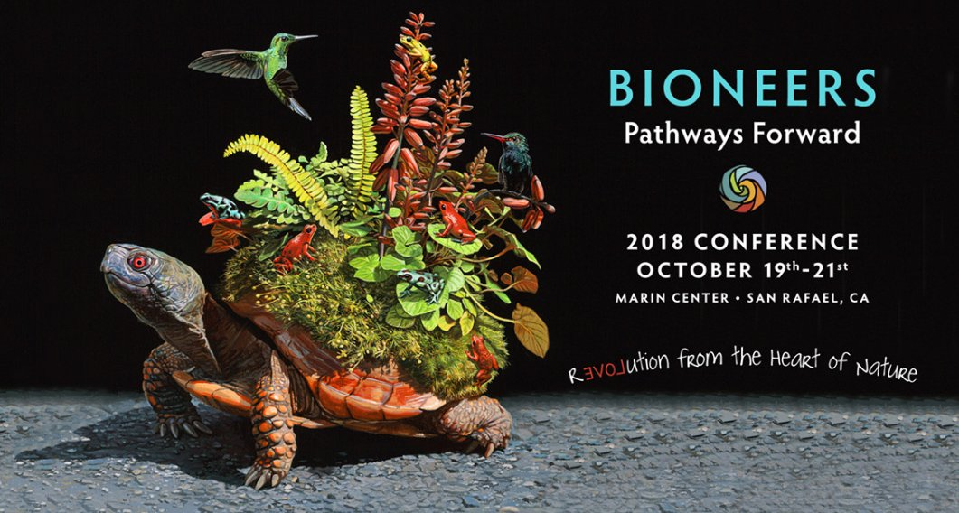 Been a fan of bioneers forever exciting