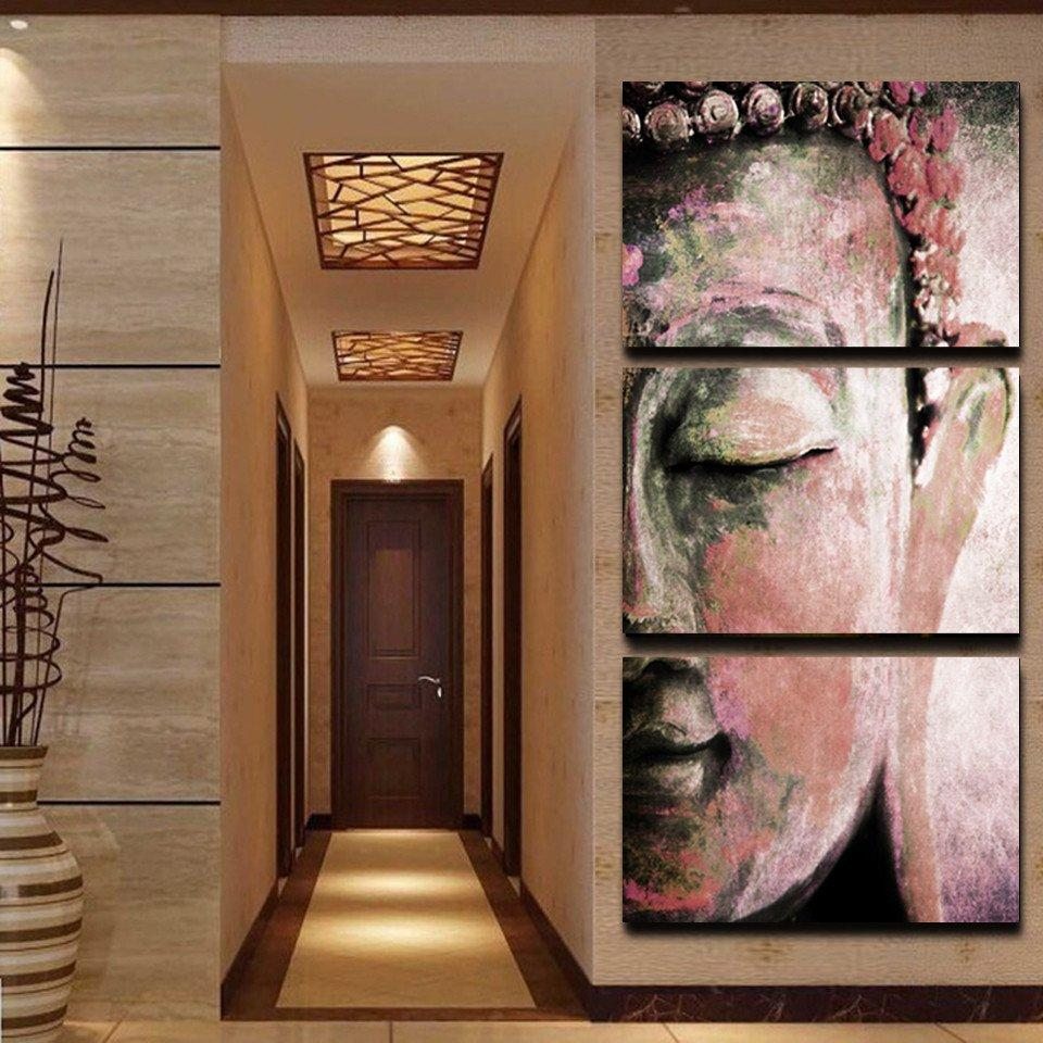 Panel Wall Art Buddha Oil