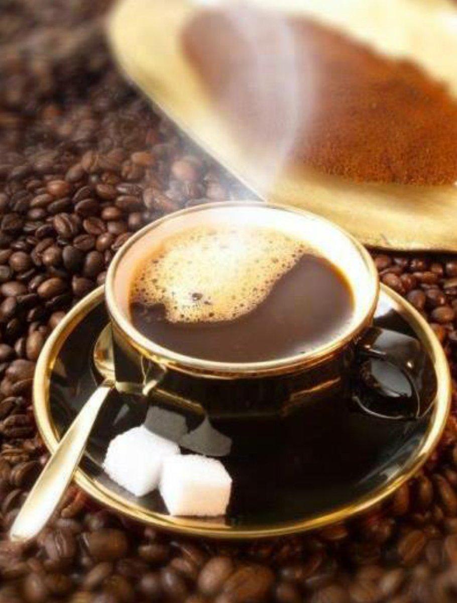 Доброе утро горячий кофе картинка