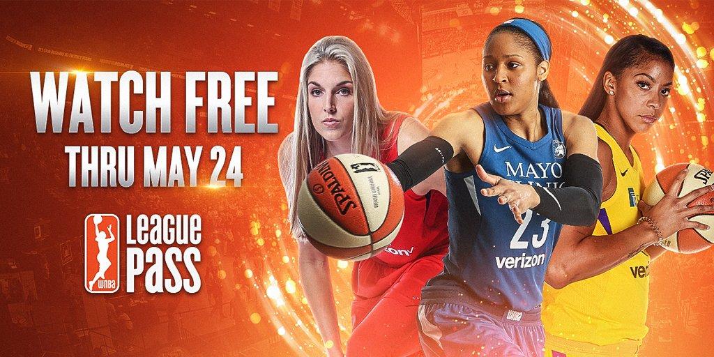 🚨 #WNBA League Pass Alert 🚨  Its FREE through Thursday! Sign up now: on.nba.com/2rUWVFh