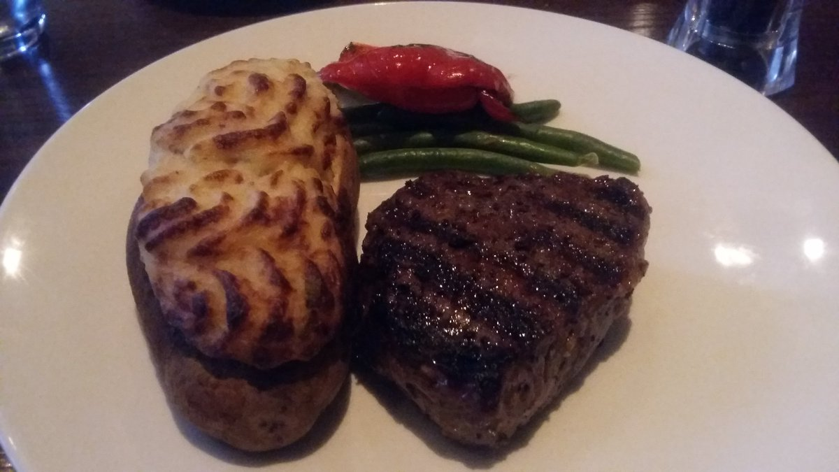 Twitter post: RT @chrislui01: Steak and Seafood Saturday @TheKeg! Top…Read more. Opens full post in an overlay