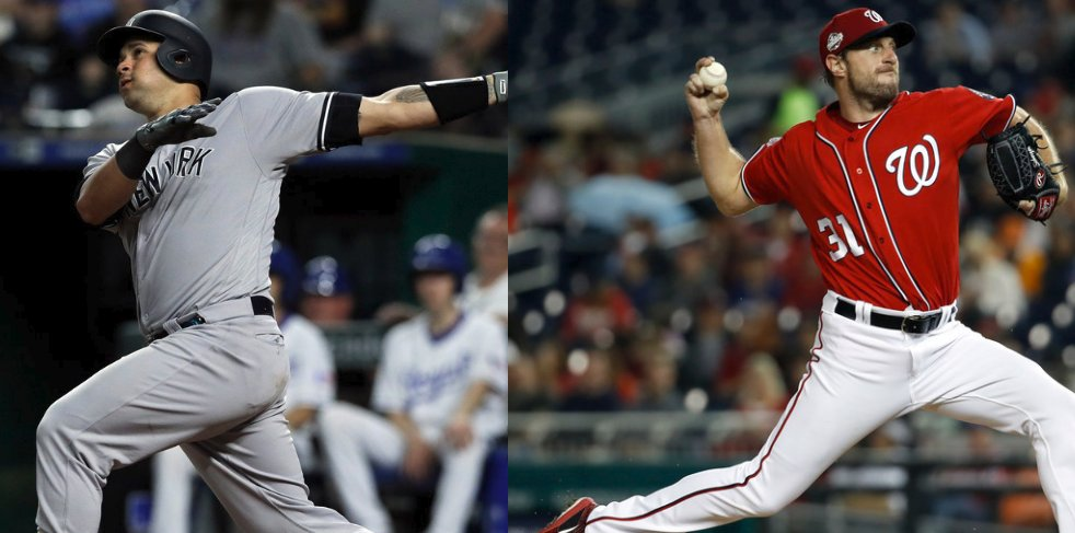 Esta noche en #MLB:  ⚾️Gary Sánchez se convirtió en el jugador que más rápido alcanza 10 juegos con 2+ HR ⚾️Max Scherzer se convirtió en el lanzador de Era Moderna que más rápido alcanza 100 K en una temporada (63 EL)