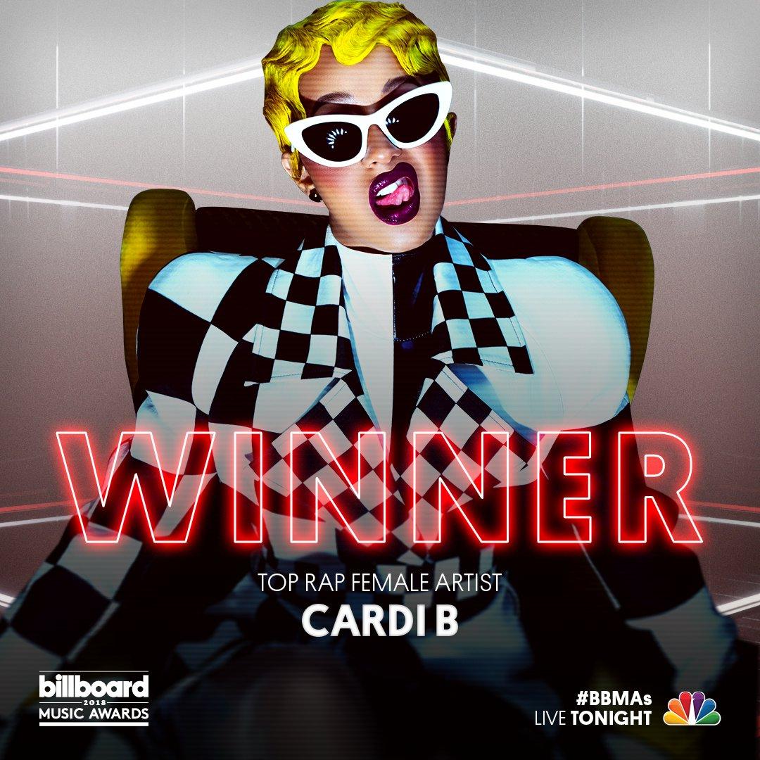 Image result for cardi b billboard music awards 2018
