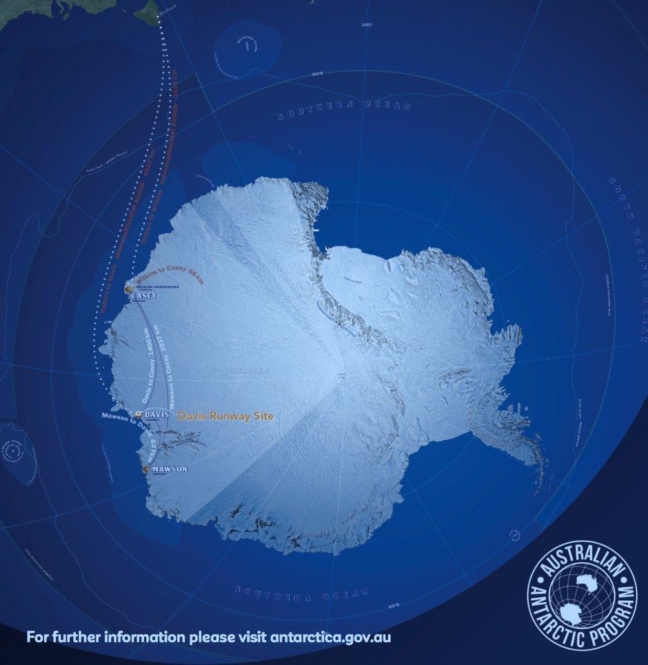 какое место занимает антарктида