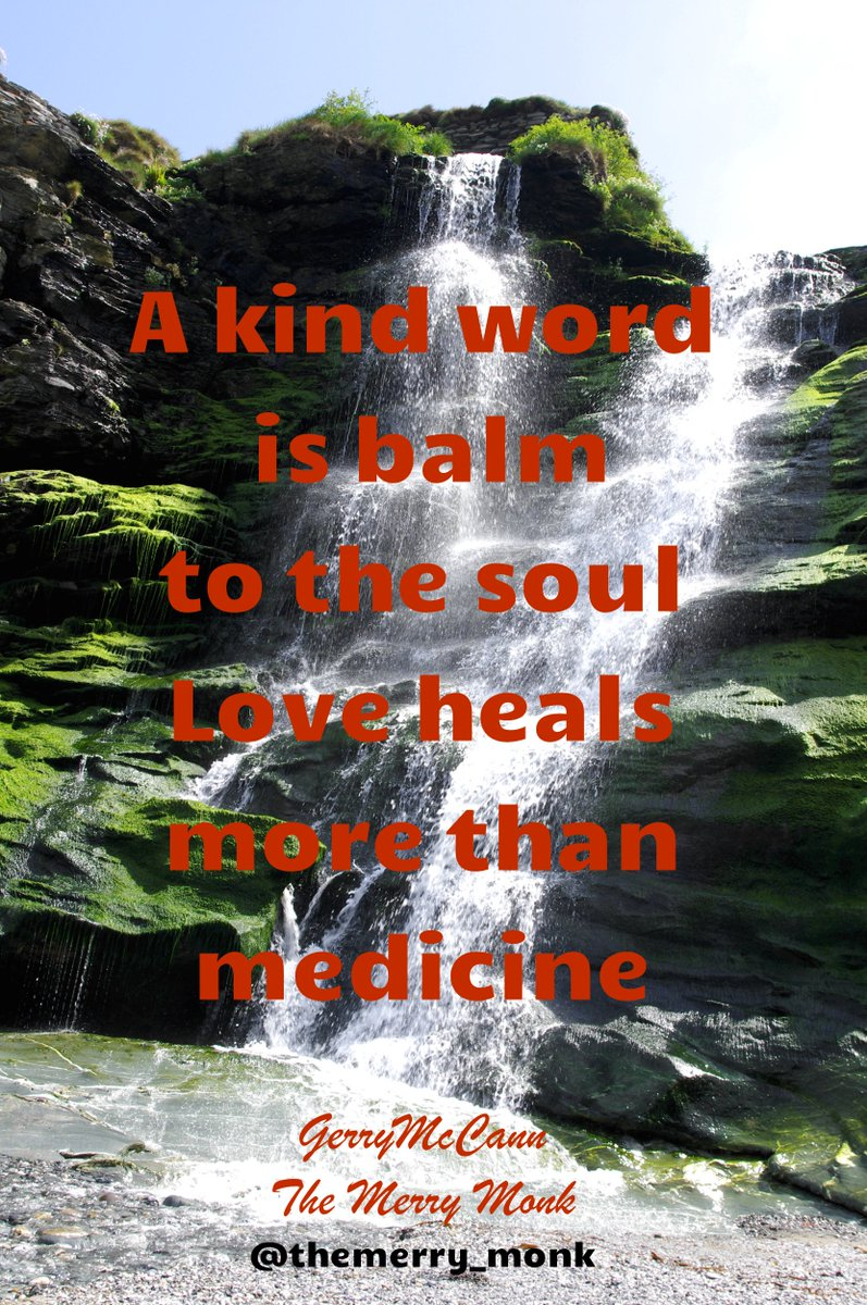 Kindness is balm to the soul ~The Merry Monk  #IQRTG #quote #dailyquote <br>http://pic.twitter.com/JFzuJNZMLM