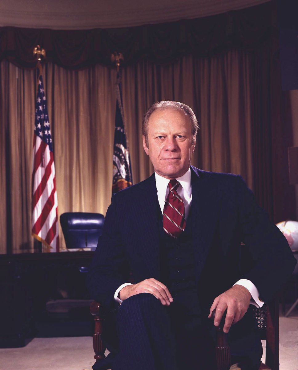 #DYK: In his first year in office in 1974, President Ford became the first U.S. president to officially recognize #Ramadan and the Eid al-Fitr celebration marking the end of the holy month. He released official messages on the occasion throughout his tenure as president.