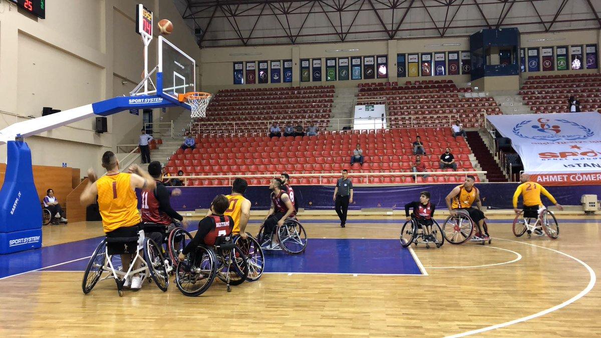 İlk yarı sonucu | Galatasaray 39-30 Gazişehir Gaziantep