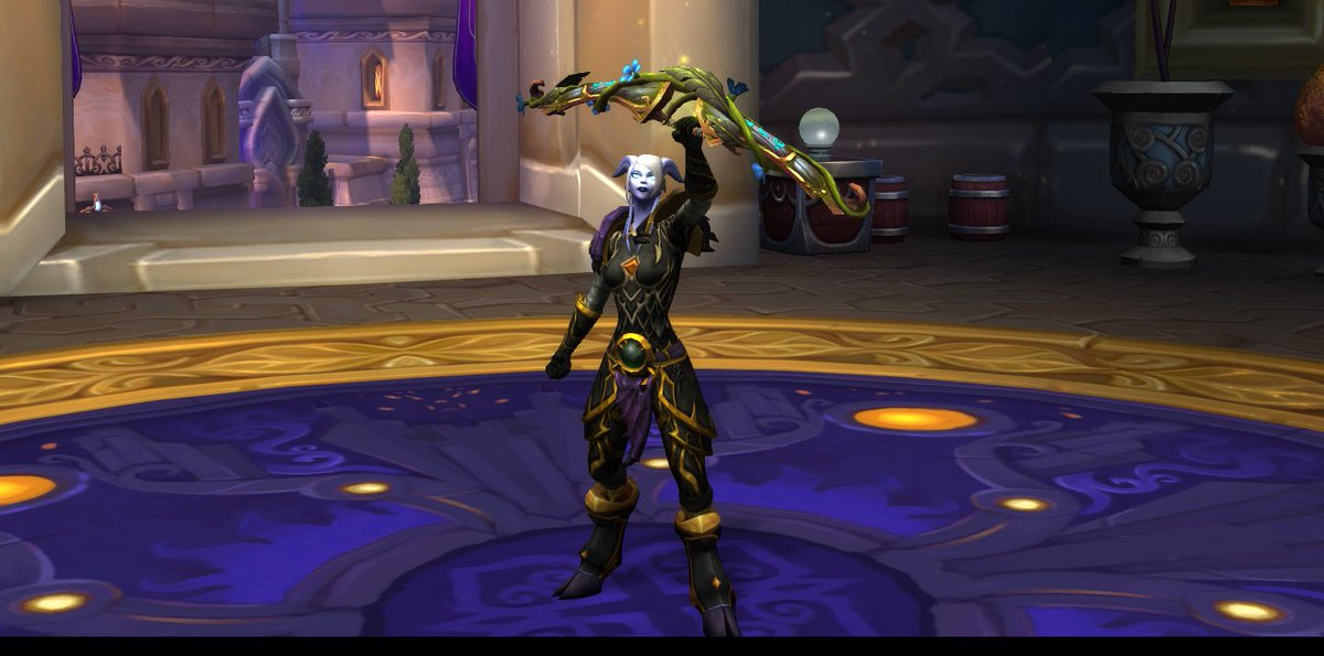Draenei Hunter with MM challenge bow