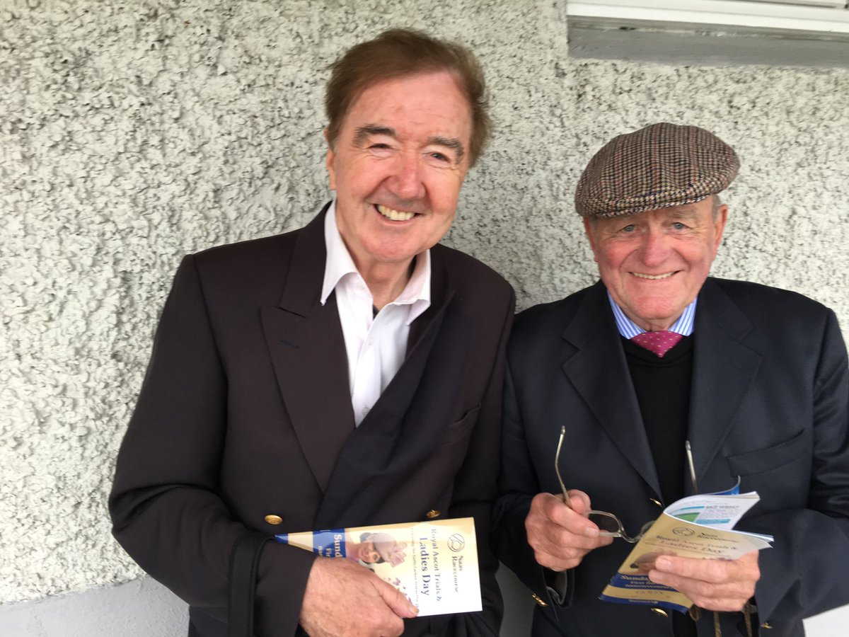 Two of the all time greats and gentlemen of the turf. How lucky are we to have watched their horses perform down the years.