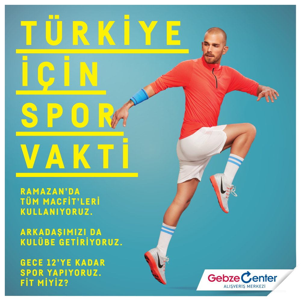 Gebze Center On Twitter Ramazan Da Da Macfit Li Olmanin