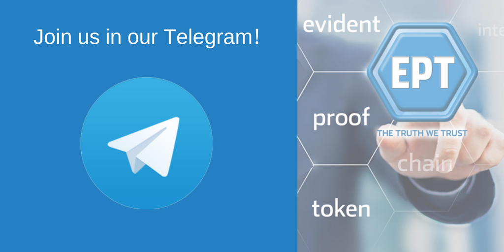 Have questions? Join us in our Telegram room.  https:// t.me/EvidentProofOf ficial &nbsp; …    #Secure #Compliance #DueDiligence #RiskManagement #ICO<br>http://pic.twitter.com/PnjYlVOWxI