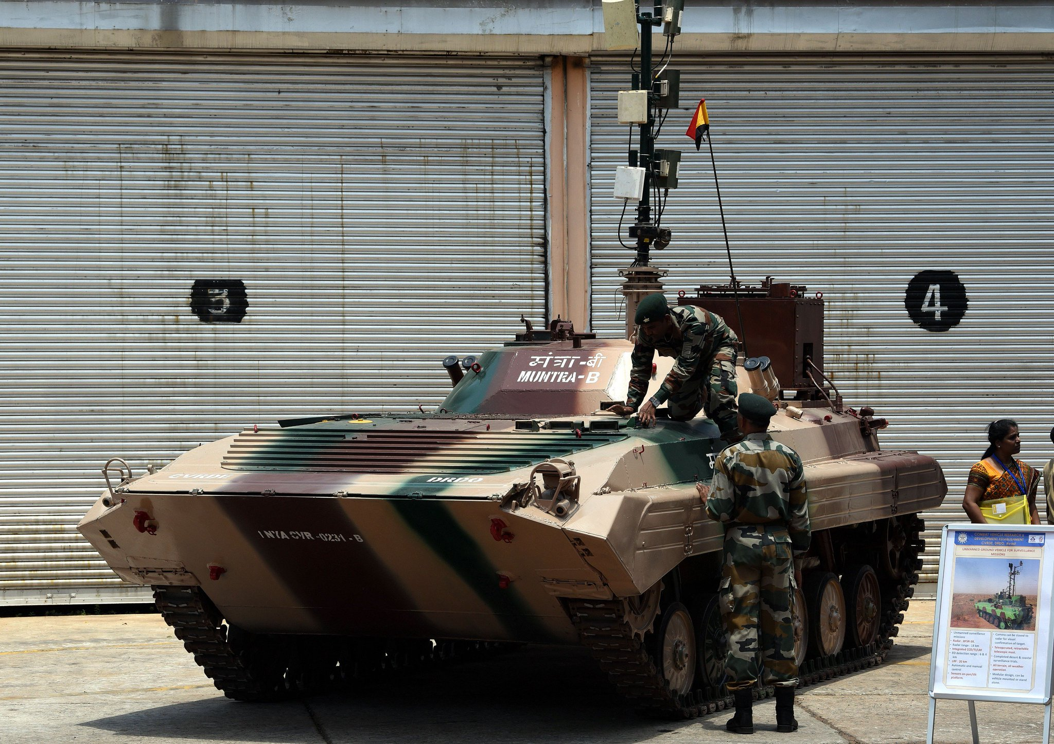India working on unmanned tanks, vessels, robotic weaponry for future wars https://t.co/jBkeYplmhR https://t.co/femPTIHvL8