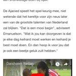 Image for the Tweet beginning: Als 7-jarig voetballertje uit Amsterdam-Noord
