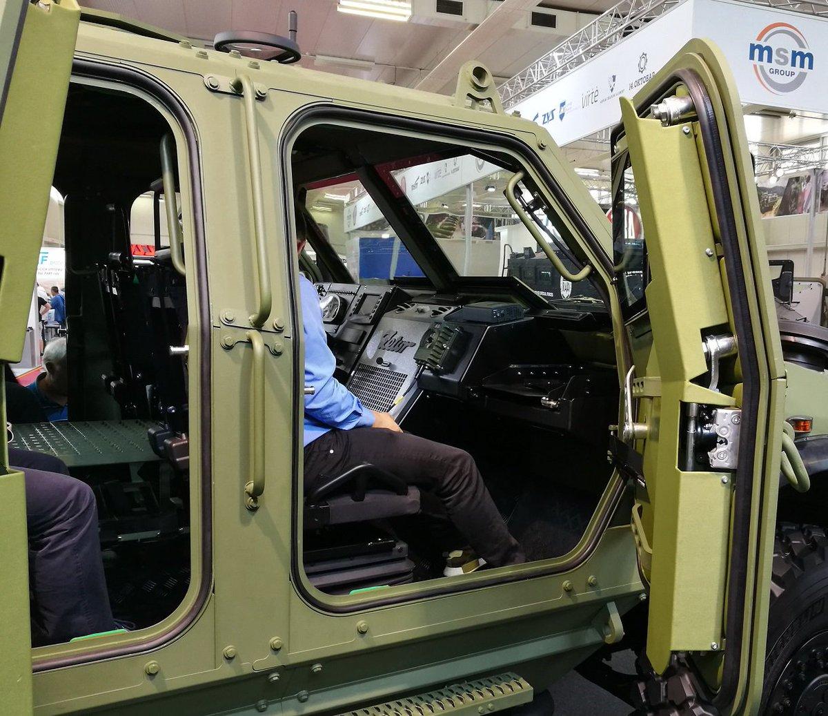 شركة Zetor الهندسيه التشيكيه تكشف عن العربه المدرعه  Gerlach  DdoayvkU8AAjIxk