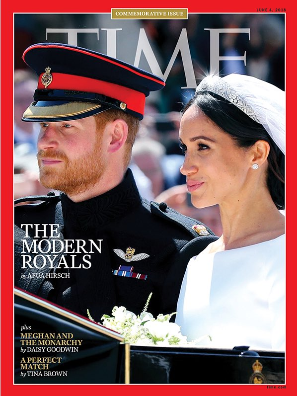 Tired of being told how black women should feel about Meghan/ the Royal Wedding/ potential acceptance/ assimilation/ great change on the horizon, I sort of shouted some feelings about it to @afuahirsch when neither of us realised it would be the Time Magazine cover feature