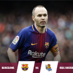 Barcelona will look to give Andres Iniesta a great send-off when the club legend plays his final match for the Catalans tonight.