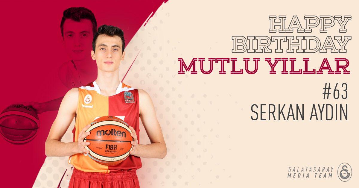 Mutlu yıllar, Serkan Aydın! 🎂