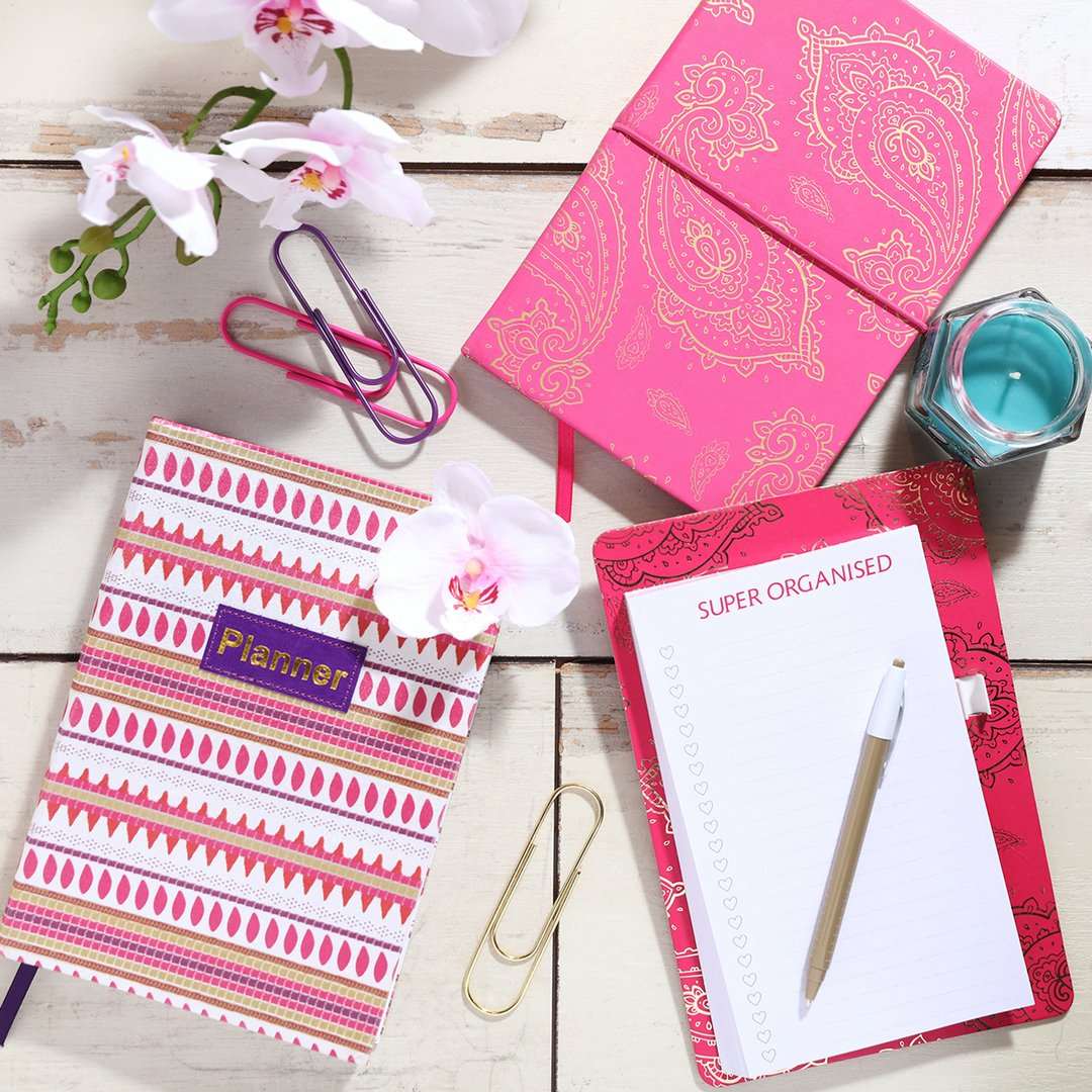 Happiness is cute and colourful stationery 💖  Prices from £1/€1.50/$1.50 #PrimarkHome #stationerygoals