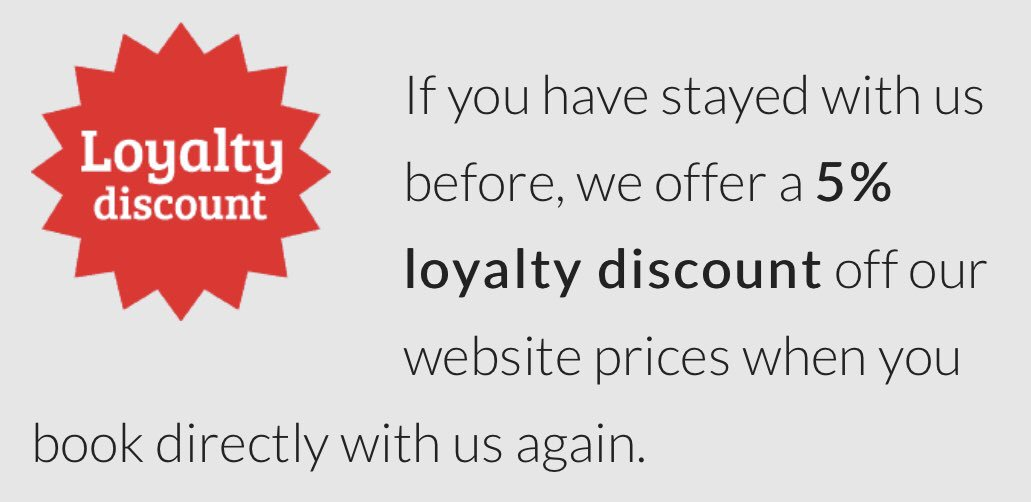 If you have stayed at one of our cottages or hired our camper van before, there's a discount off all future bookings with us. Please visit our website: karenskottages.co.uk. #northumberland #offer #SundayThoughts #loyalty #customer #dogfriendly