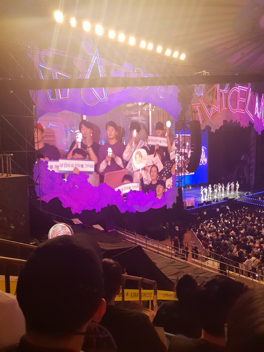 Full Support in the last day concert of Twice - Random
