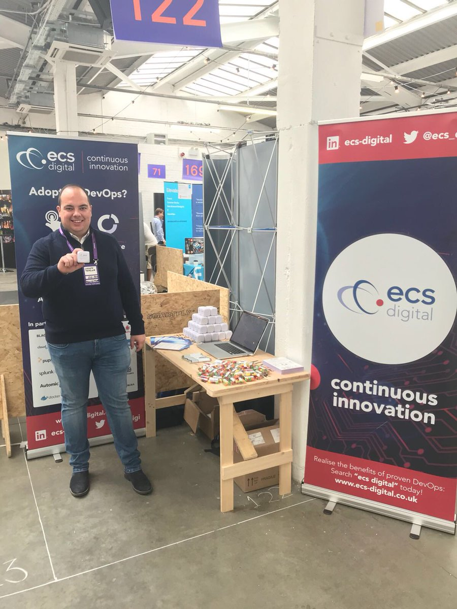 #DevOps #SDET #Developers come and see us at stand 122 at #siliconmilkroundabout #ecs_digi #careersintech #SMRMAY2018<br>http://pic.twitter.com/doRwcyeGKJ