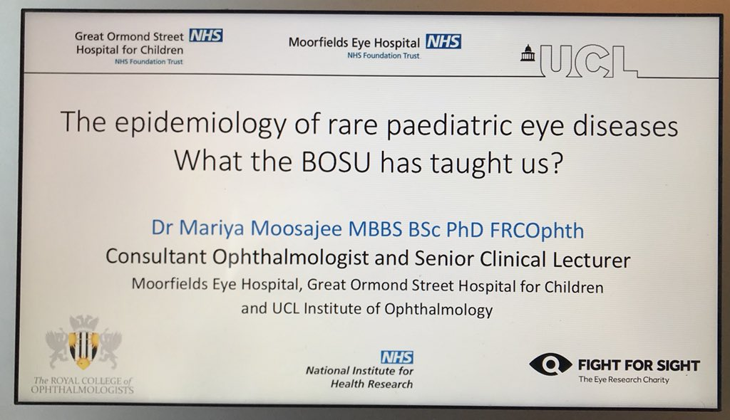 Preparing my talks for annual #RCOphth2018 meeting starting tomorrow @ACCLiverpool. One on #epidemiology of #raredisease causing childhood #blindness in the #UK. The other is on #Genomics and #GeneTherapy. Please come along! @RCOphth @Moorfields @MoorfieldsBRC @GreatOrmondSt<br>http://pic.twitter.com/InGp2EnSfF
